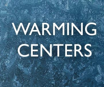 Cold Temperatures Continue Throughout the Week, Warming Centers Throughout the Area are Open.