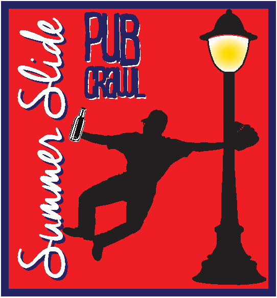 summer slide pub crawl