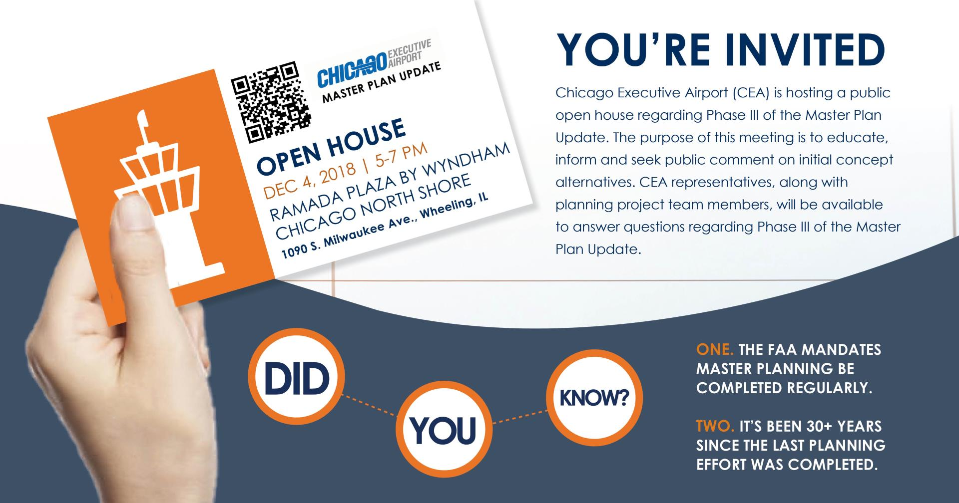 Chicago Executive Airport to Host Public Open House