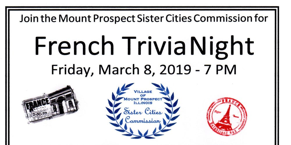 French trivia night
