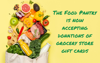 Food Pantry Requests Donation of Gift Cards