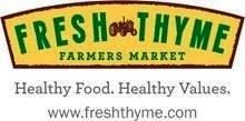 Fresh Thyme Farmer's Markets